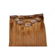 Естествена коса на клипс - екстеншън 55 см, 110 гр