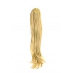 Опашка от естествен косъм - екстеншън от естествена коса цвят 22