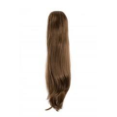 Опашка от естествен косъм за удължаване на коса
