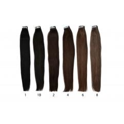 Кичури (коса) на стикери - 55 см - 23 цвята