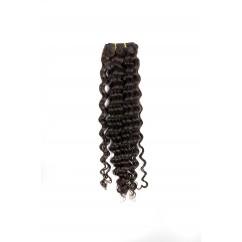100 % Естествена коса за удължаване - REMY - 4 stars къдрава