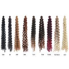 Чуплива изкуствена коса от канекалон